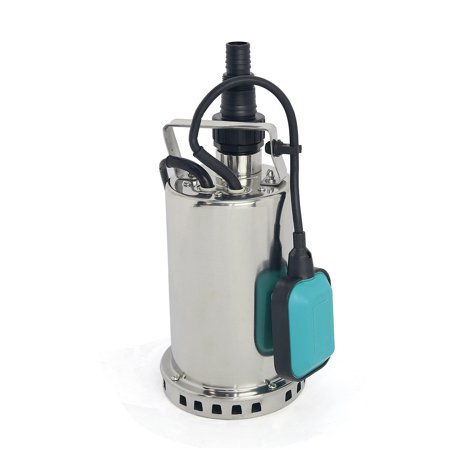 XtremepowerUS 1HP Submersible Electric Water Pump Garden Sewage Pump Water Transfer Pump Sump Pump Float Switch