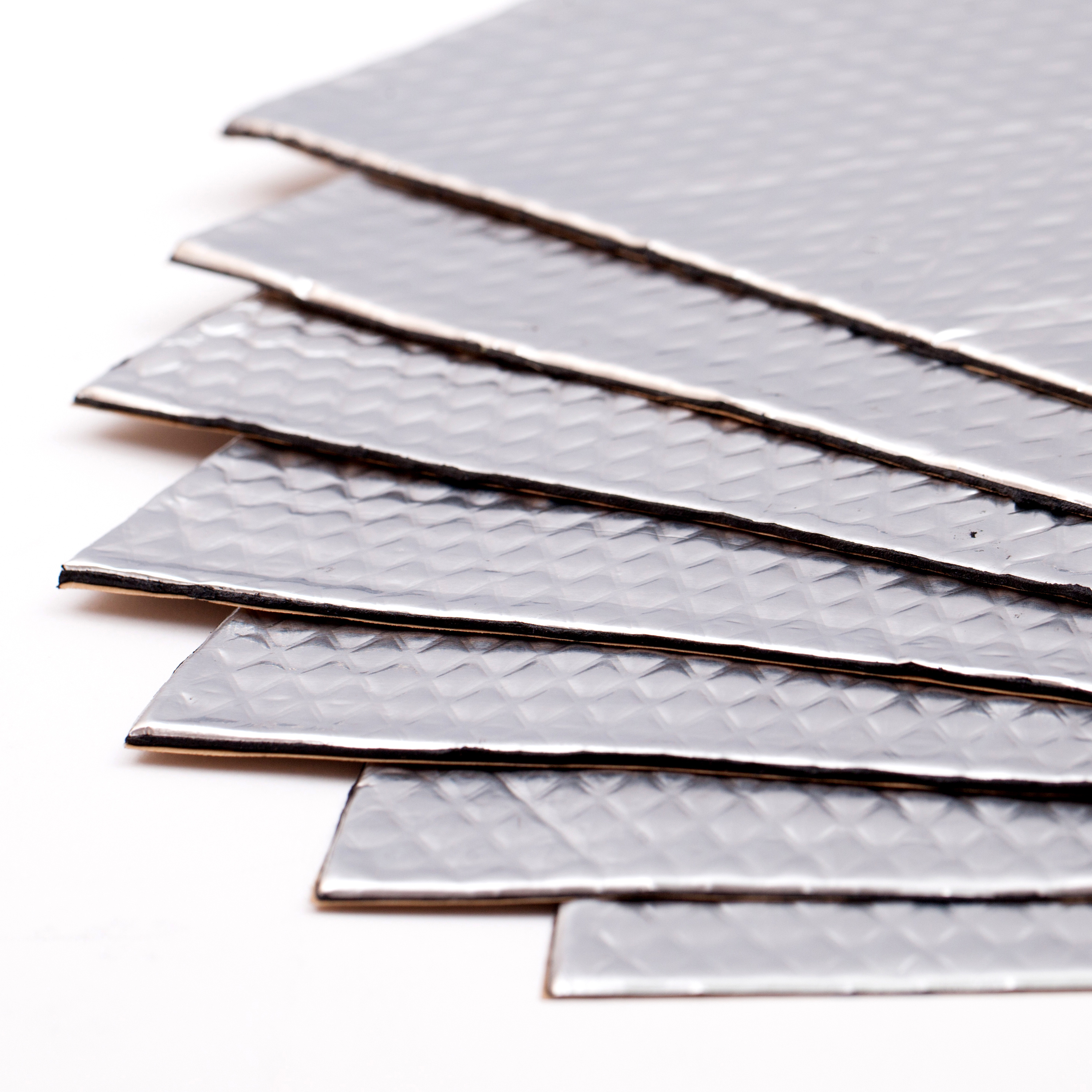 Noico 80 mil 36 sqft car Sound deadening mat, butyl automotive Sound Deadener, audio Noise Insulation and dampening (pack of 9 sheets, total 36 square feet, 0.08 inch thickness)