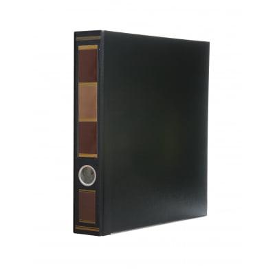bindertek 2 ring 2 inch premium binders barrister black bdsslnbb