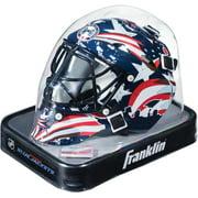 Columbus Blue Jackets Unsigned Franklin Sports Replica Mini Goalie Mask