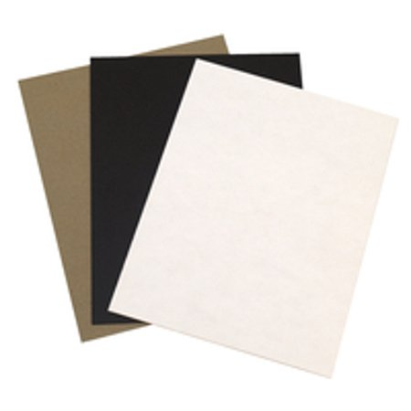 Grafix Chipboard Classroom Pack, 8-1/2 x 11 inches, Assorted Colors, 48 (Beauty Chipboard)