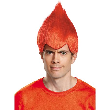 Morris Costumes Adult Wacky Wig Red One Size, Style DG11523RD - Wacky Wigs