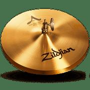 Zildjian A0131 13 In Beat Hihat Top Cast Bronze Cymbal Solid Chick Sound New
