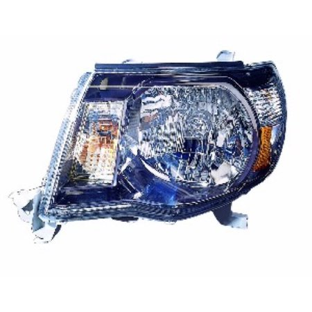 Go-Parts » 2005 - 2011 Toyota Tacoma Front Headlight Headlamp Assembly Front Housing / Lens / Cover - Left (Driver) Side - (Pre Runner + X-Runner) 81150-04173 TO2502181 Replacement For Toyota)