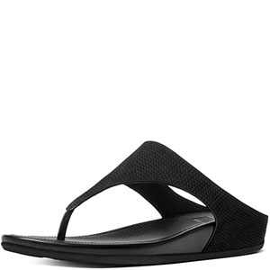 banda tm tm banda perforated nubuck thong sandals 042163