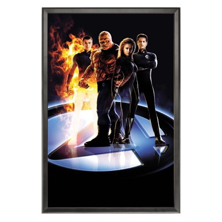 - Snap-Open Quick Change Poster Frame for 27 by 41 Inch Signs - Black (QCBLK2741)