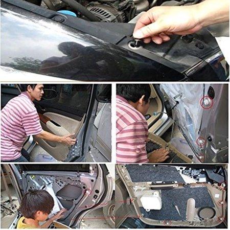 50pcs Automotive Plastic Rivet Car Fender Bumper Interior Trim Push Pin Clips Kit Car Accessories - image 5 of 5
