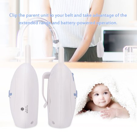 FAGINEY Portable Wireless 2.4GHz Digital Audio Baby Monitor Sensitive Transmission Voice Two Way Talk  , wireless baby monitor, two way talk Electro Voice Stage Monitor
