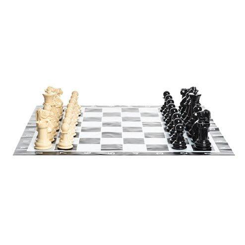 MegaChess Plastic 8 Inch Giant Chess Set by MegaChess