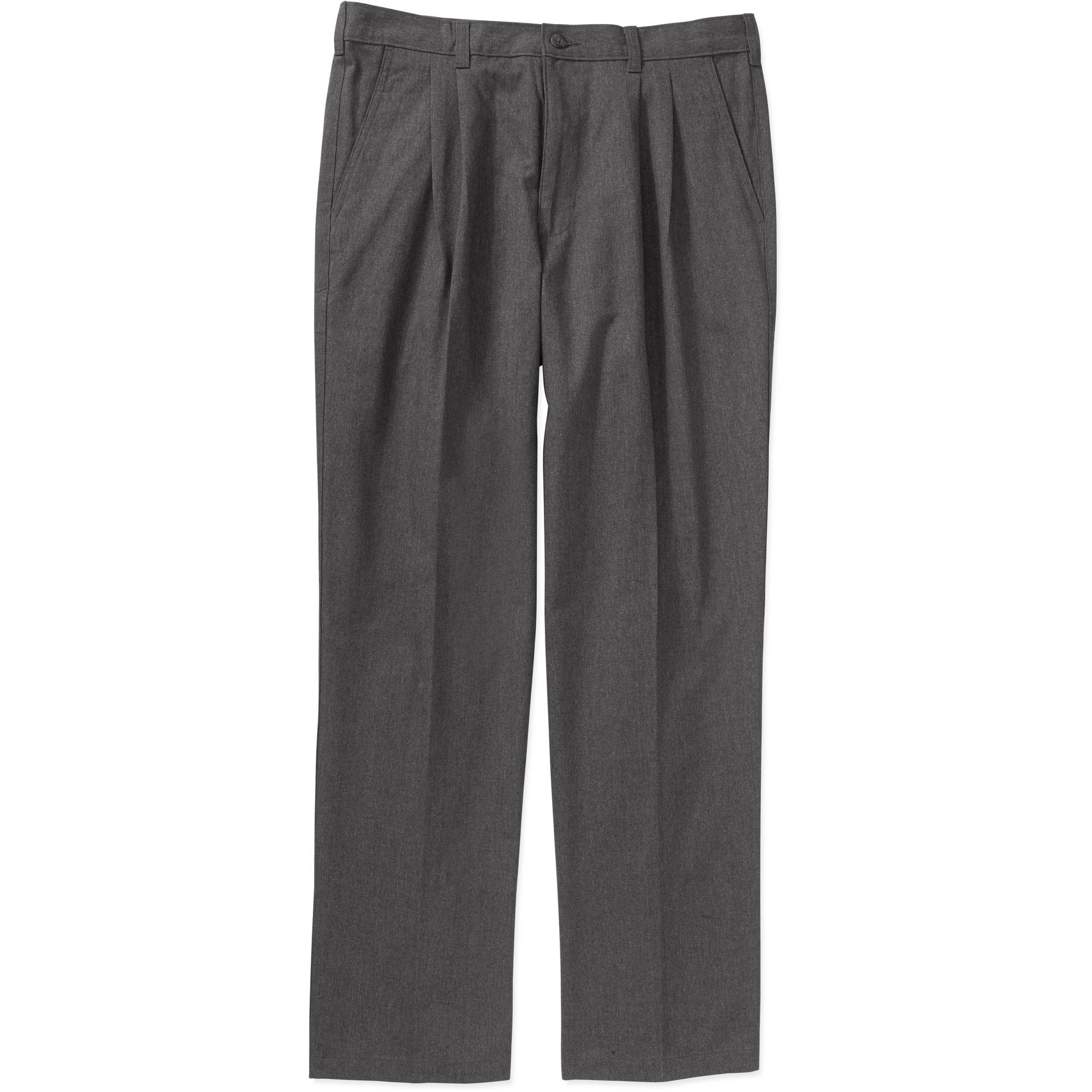 George Big Men's Pleated Front Pant