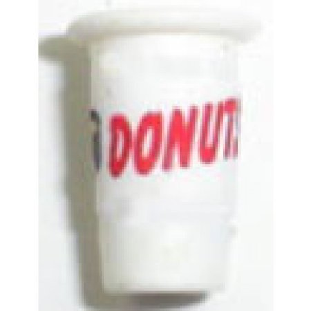 Dollhouse Donut Take Out Cup-Filled