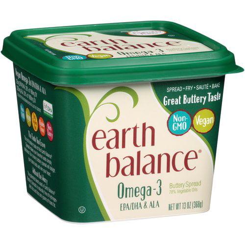 Earth Balance Omega-3 Buttery Spread, 13 oz