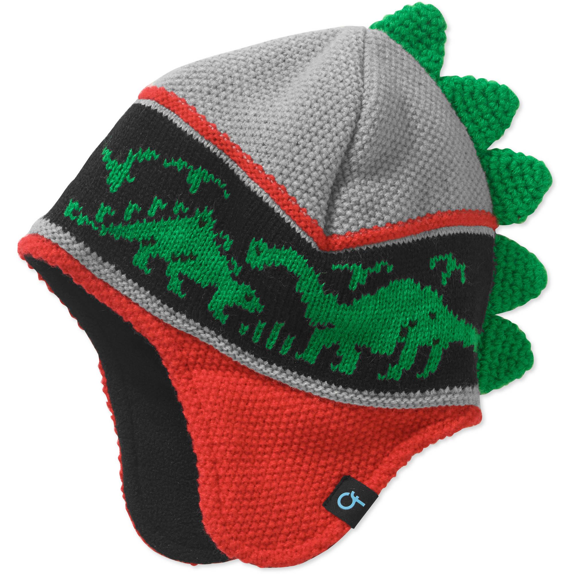 Cold Front Boy's Dinosaur Beanie