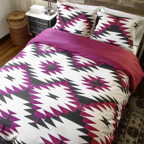 Thread Experiment David Hart 2 Piece Reversible Comforter Set