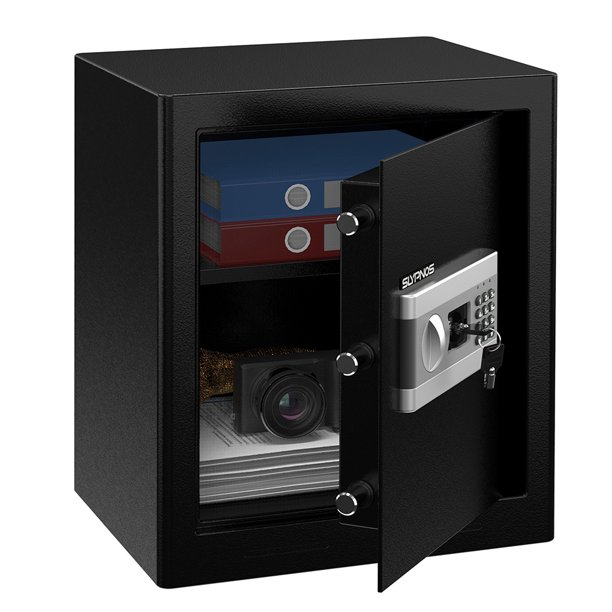 Safe Box, Large Lock Box With Digital Keypad For Home