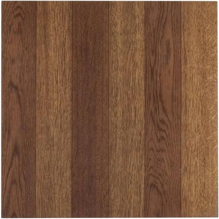 Tivoli Medium Oak Plank Look 12x12 Self Adhesive Vinyl
