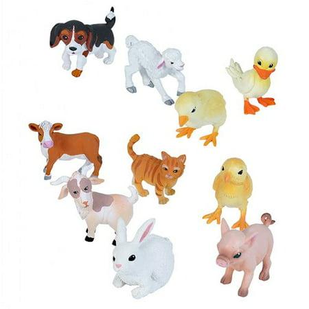 Nature Tube Farm Babies Animal Figures - Animal Figures