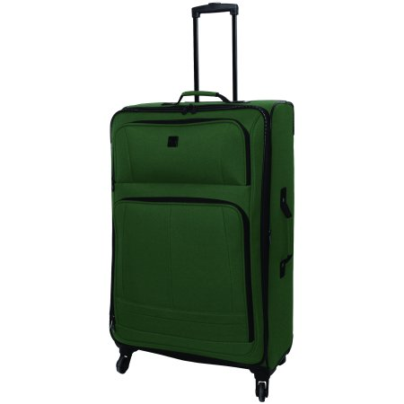 Protege 28u0022 Elliptic 4-Wheel Light Weight Spinner Luggage, Green