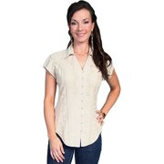 Scully Western Shirt Womens Cantina Short Sleeve Button PSL-066