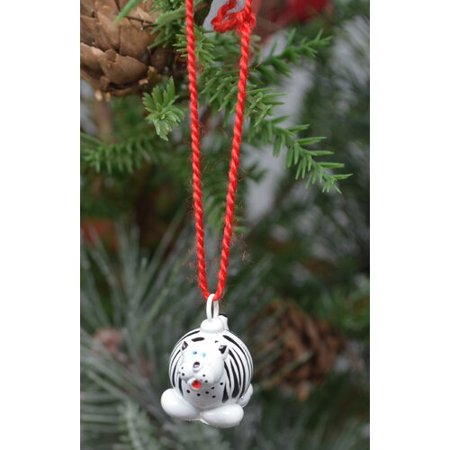 The Holiday Aisle Tiger Marble Hanging Figurine