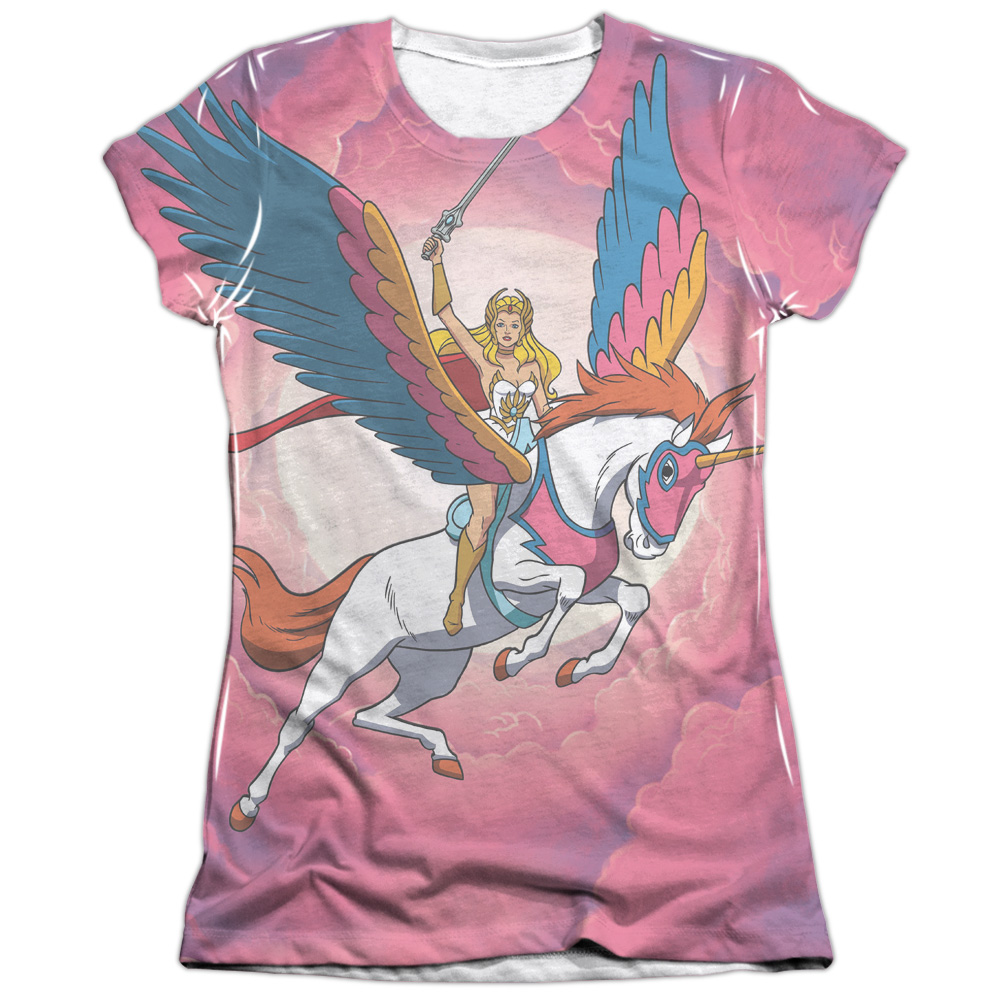 She Ra Sky Power (Front Back Print) Juniors Sublimation Shirt