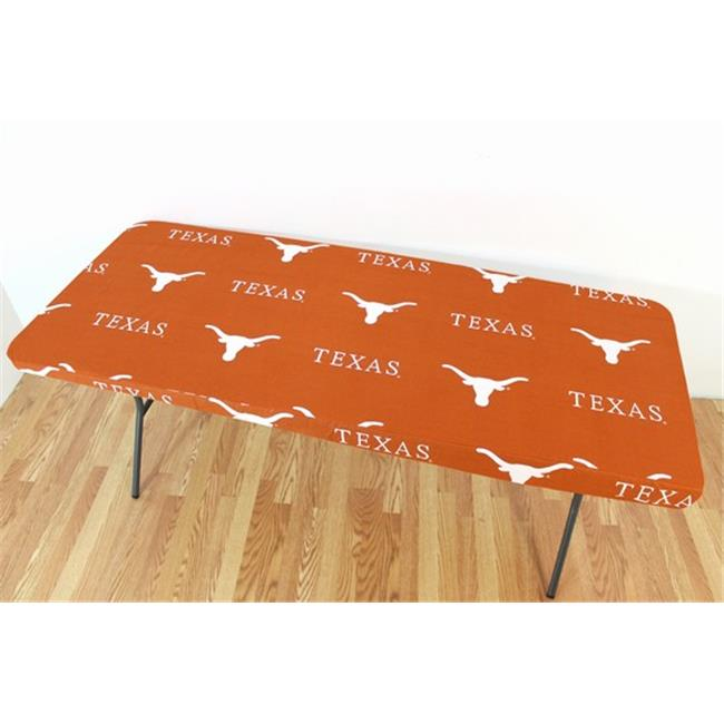 College Covers TEXTC8 Texas Longhorns 8 ft.  Table Cover