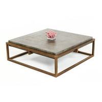 Shepard Concrete Coffee Table