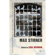 Max Stirner Hardcover Edition - 2011