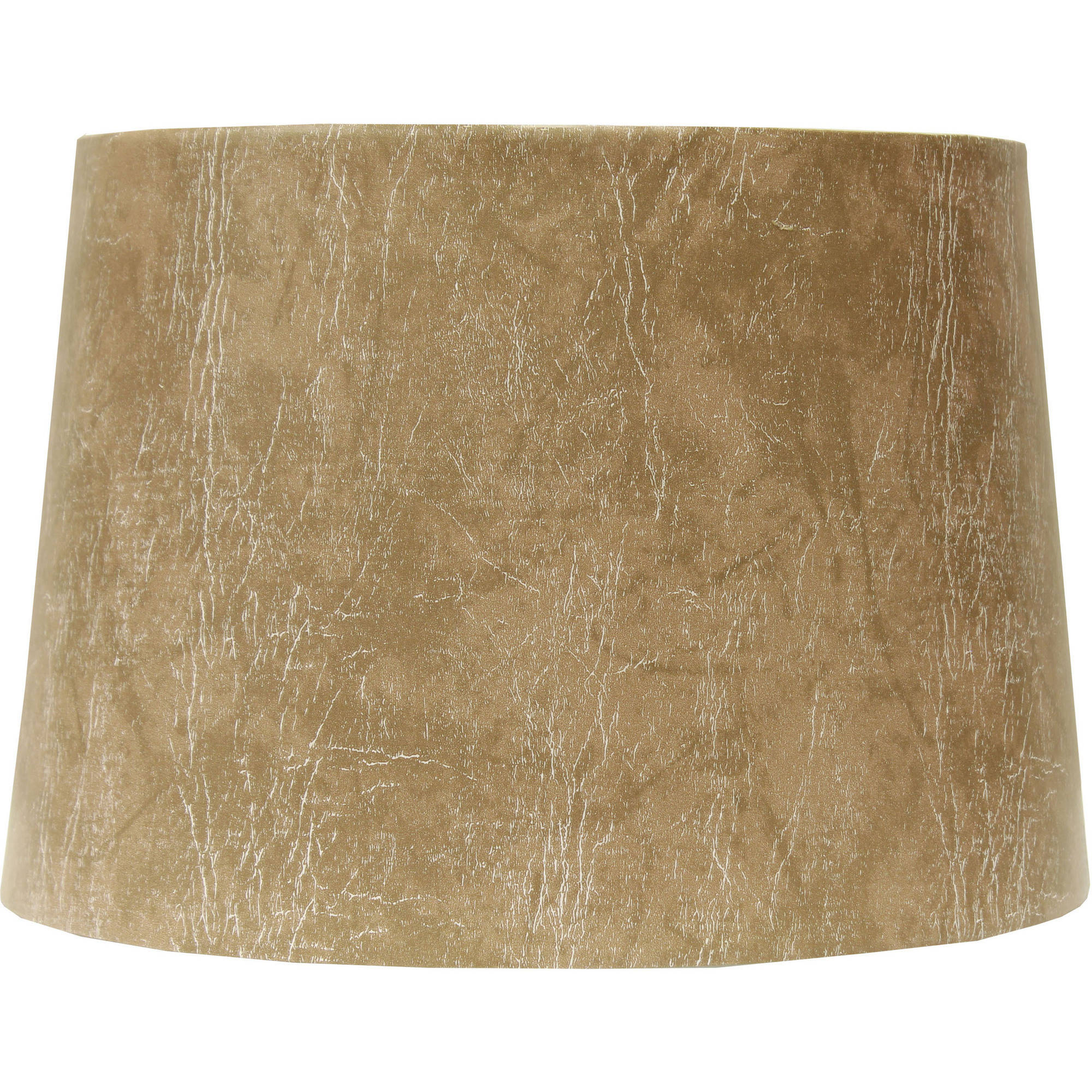 Better Homes and Gardens Faux Leather Drum Shade, Beige