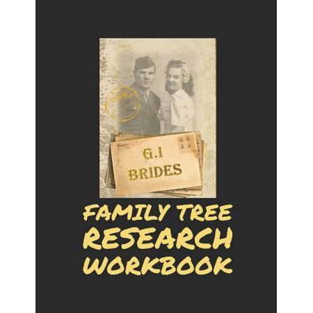 Family Tree Research Workbook: Family Tree Memory Keeper Your Workbook for Family History, Stories and Genealogy