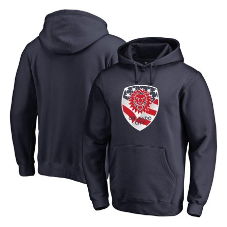 Orlando City SC Fanatics Branded Club and Country Pullover Hoodie - Navy - Orlando Club Halloween Events