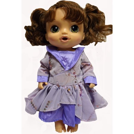 Designer Sequin Dress Fits Baby Alive And Little Baby Dolls