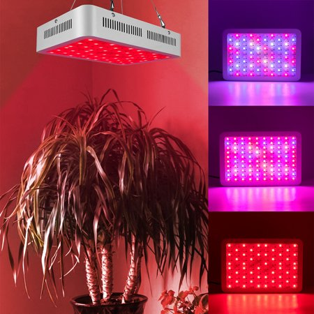 1500W Dual Chips 380-730nm Full Light Spectrum LED Plant Growth Lamp