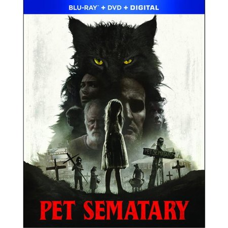 Pet Sematary (2019) (Blu-Ray + DVD + Digital)