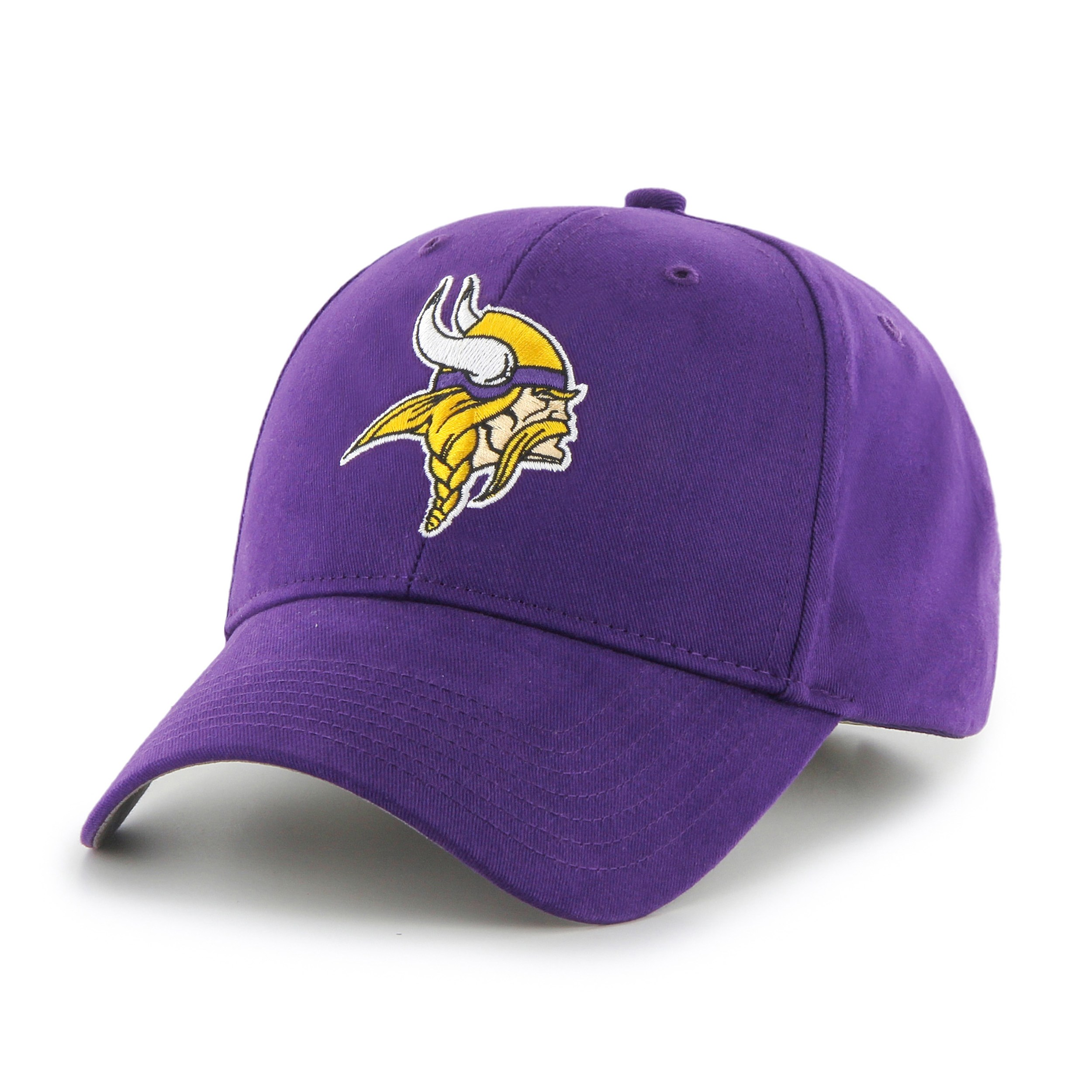 a4e6a6f11 ... reduced 47 brand minnesota vikings nfl basic hook and loop hat 79543  ee077