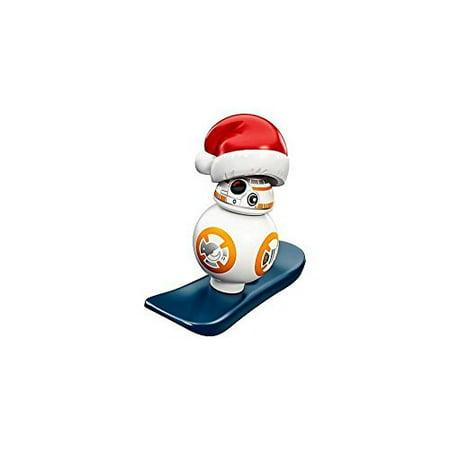 Lego Star Wars Advent Minifigure   Bb 8 Droid With Snowboard Santa  75184