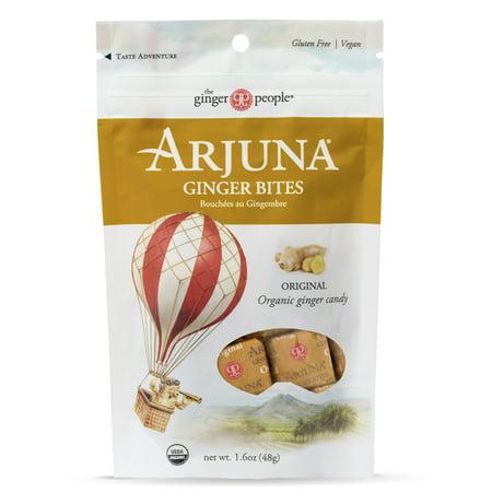 - Arjuna, Organic Original Ginger Bites Candy, 20 Oz, 16 Ct