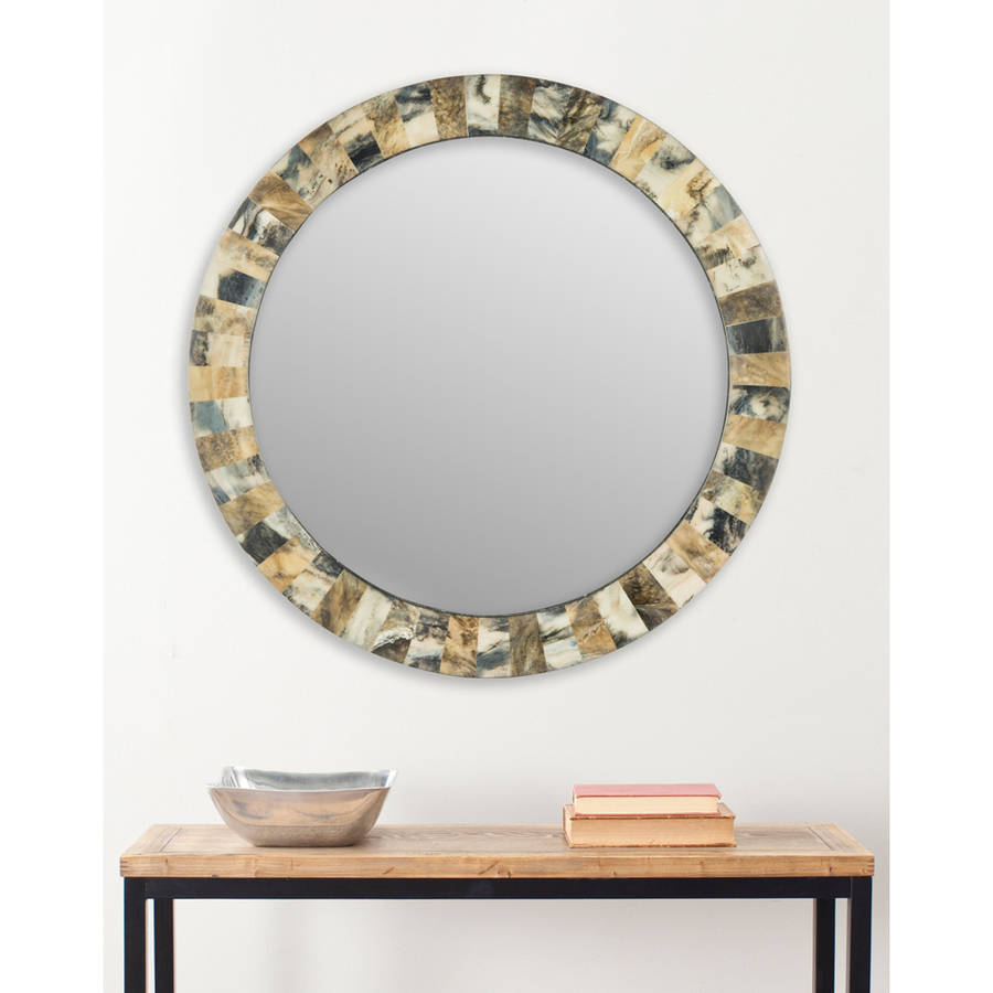 Safavieh Etienne Faux Tigers Eye Mirror, Multi