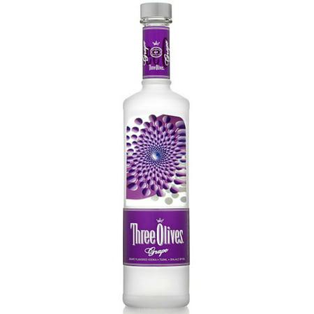 Three Olives Grape Vodka, 750 mL