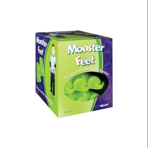 Toysmith Monster Feet Novelty Toy Multi-Colored