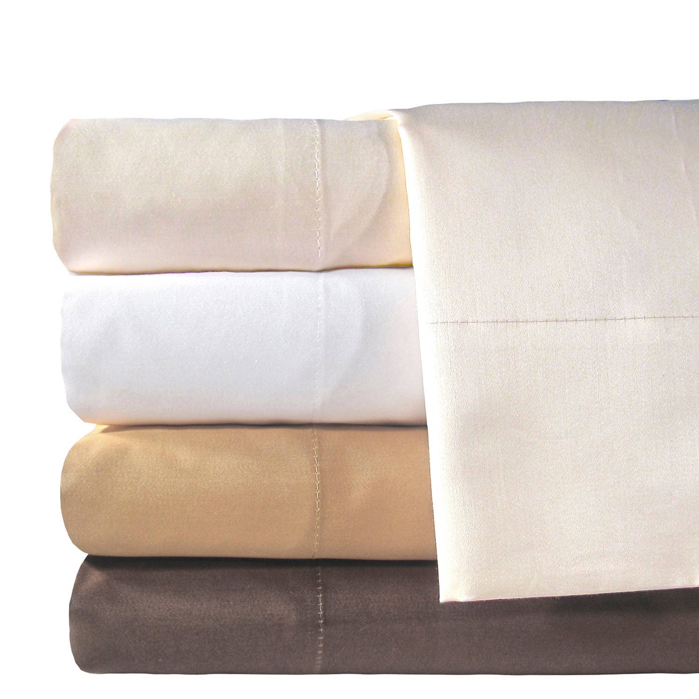 Veratex, Inc. Supreme Sateen 800-Thread Count Solid Egyptian Cotton Deep Pocket Bedding Sheet Set