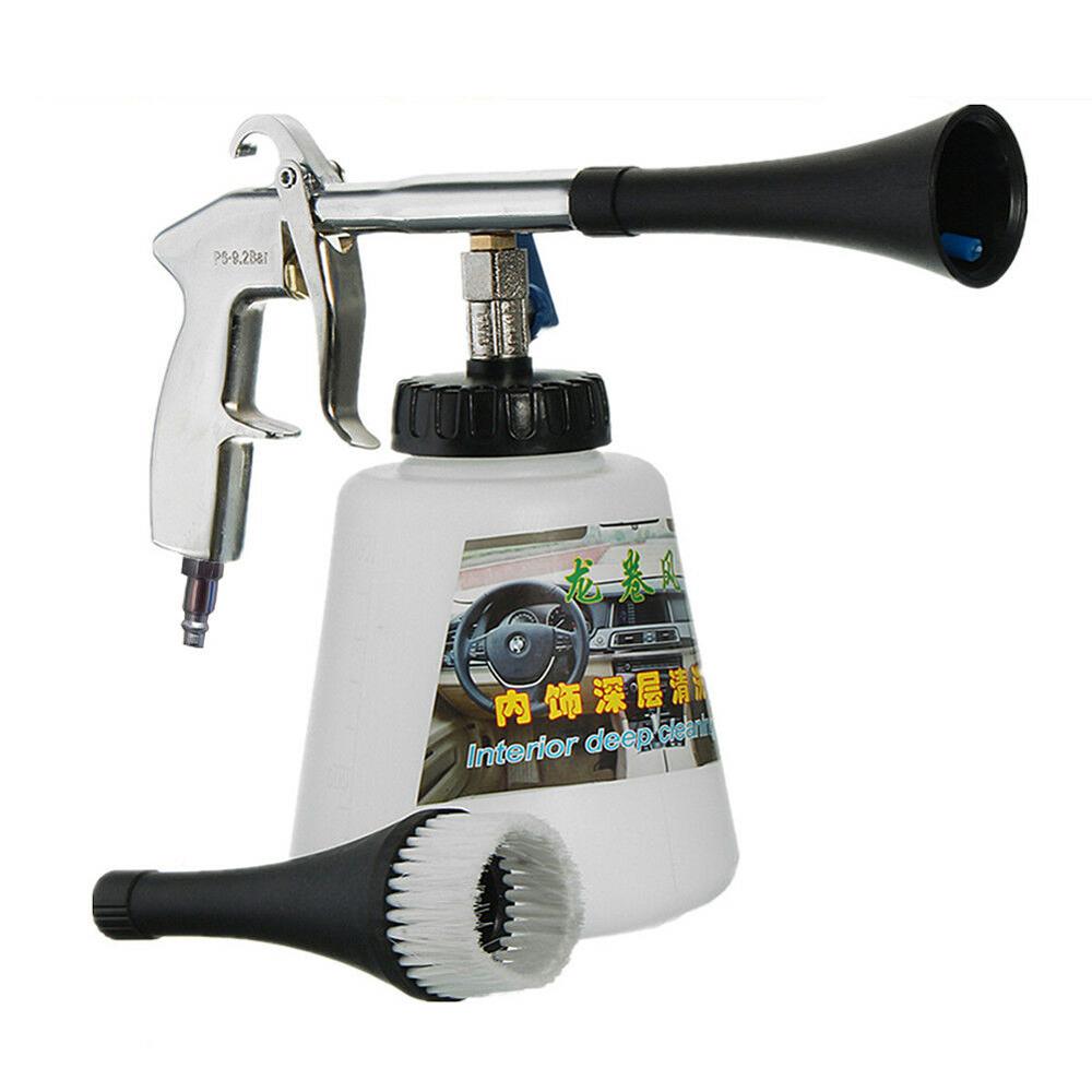 High Pressure Dry Cleaning Tornado Gun For Car Washing Auto Small Gap Dust Clean
