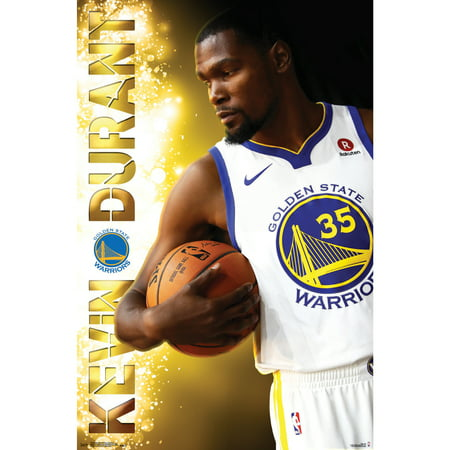 Kevin Durant Golden State Warriors 22'' x 34'' Player Poster - No Size - Kevin Durant Halloween Costume