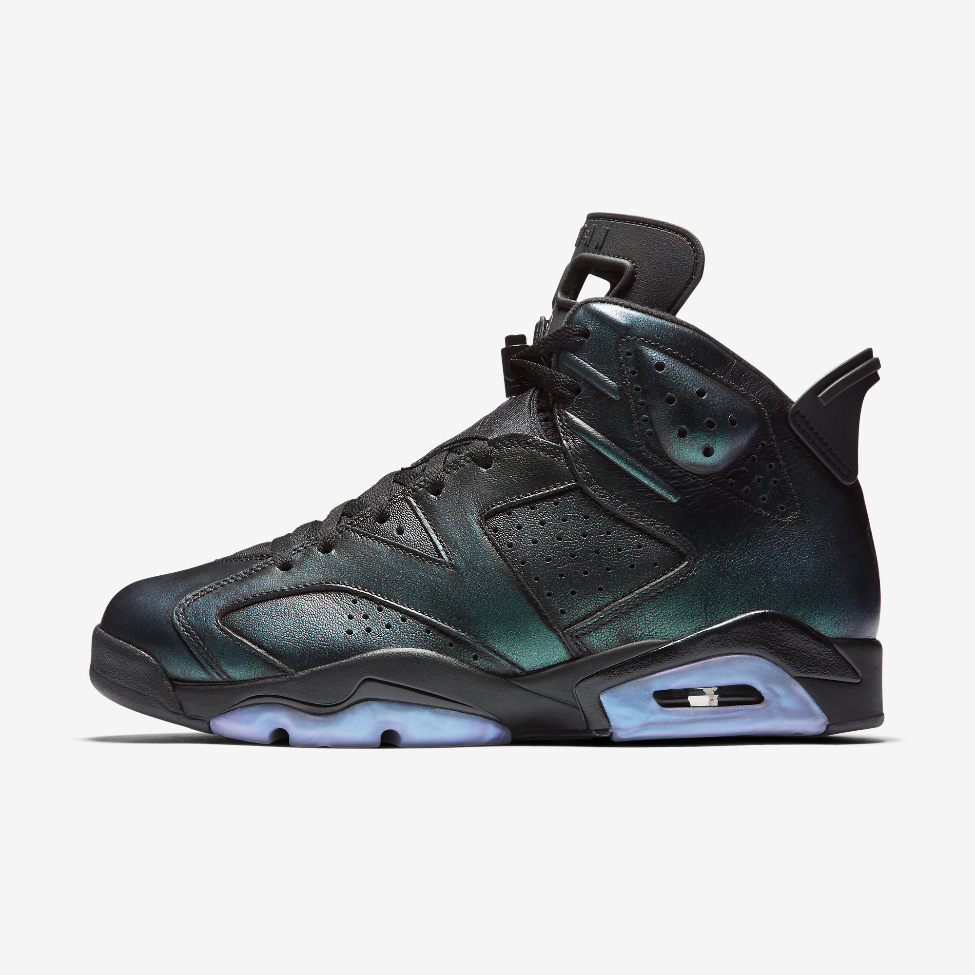 ec2fe5736bfdb0 ... get mens air jordan retro 6 vi all star chameleon black metallic silver  white 907961 015