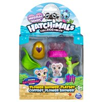 Hatchimals CollEGGtibles, Flower Shower Playset with Exclusive Mermal Magic Hatchimals CollEGGtible, for Kids Aged 5 and up