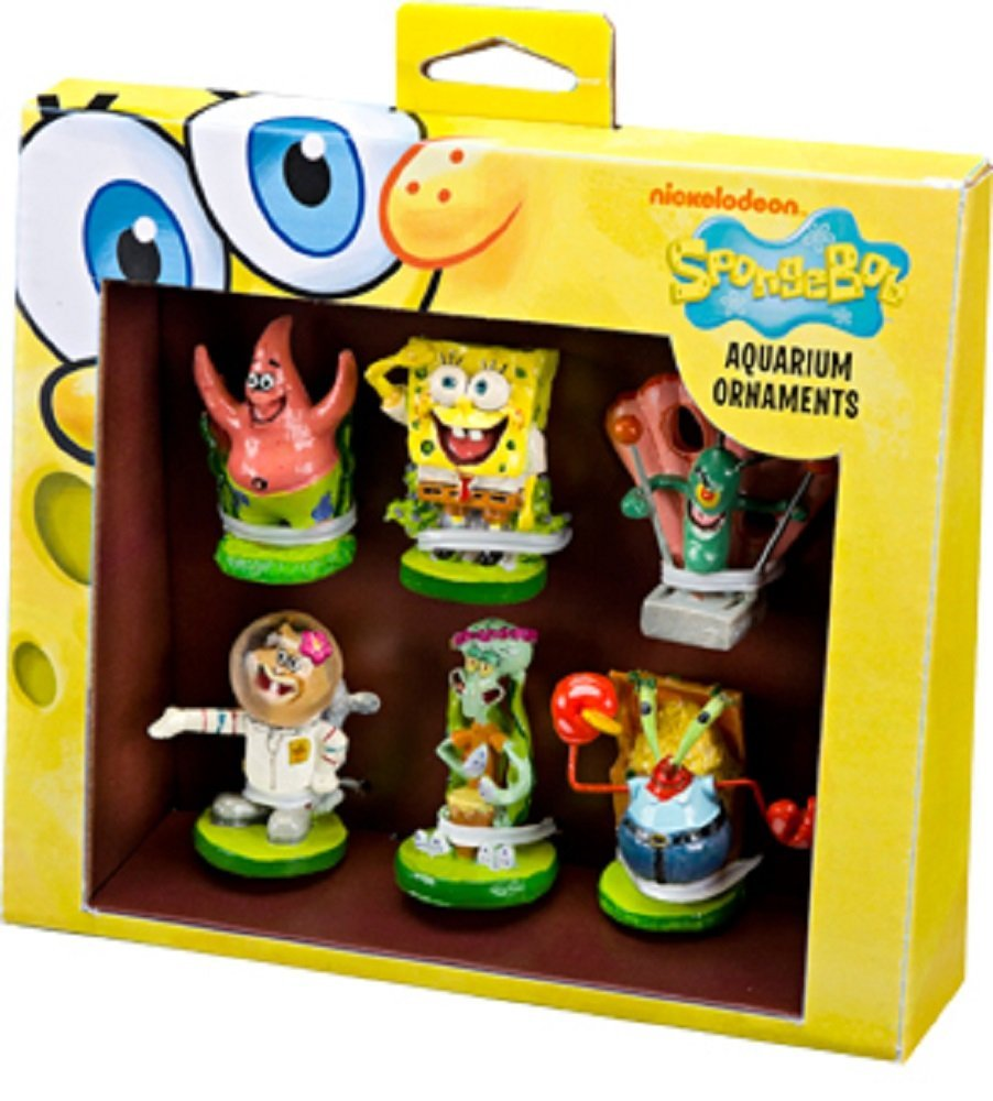 6-Piece Spongebob Squarepants Mini Set, 6 PC SpongeBob Sq...