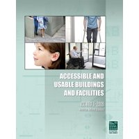 International Code Council: Accessible and Usable Buildings and Facilities: ICC A117.1-2009 (Paperback)