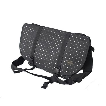 Lucky Star - Black Multi-Purposes Messenger Bag / Shoulder Bag - image 1 of 1