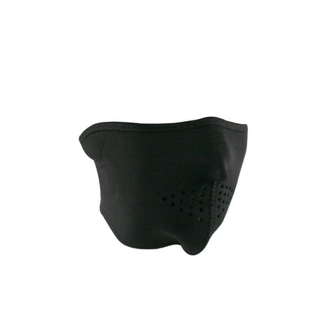 Half Mask Neoprene Black (Neoprene 1/2 Face Mask)