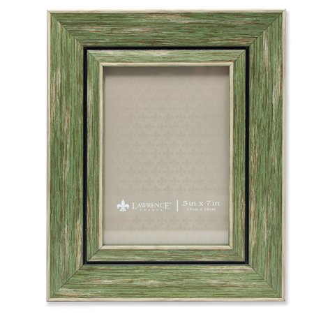 5x7 Weathered Green Decorative Picture Frame